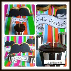 Cupcakes de chocolate con espresso para el día del padre Fun Cupcakes, Cookies, Desserts, Food, Happy, Chocolate Cupcakes, Cool Cupcakes, Crack Crackers, Tailgate Desserts
