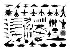 Military collection - GraphicRiver Item for Sale