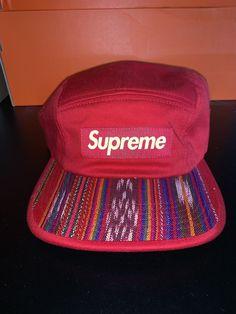 6cc363d472d Supreme guatemala Camp Hat (pre-owned)