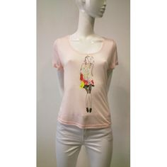Camiseta m/c Punto Dibujo Girl - 29,99€ - NOW BY MARIA FREYRE