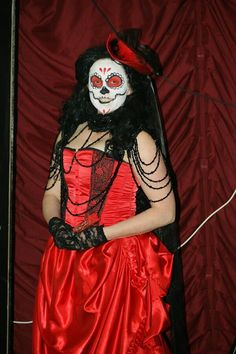 Dreams and nightmares production makeup. Sugar skull Jbroomhall makeup artist & body art
