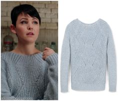Chunky Ginger Jumper as seen on Mary Margaret Blanchard | Once Upon a Time Fashion & Finds #ouat