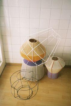 bonbon lamps by ana kras