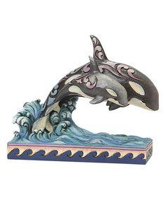 Look what I found on #zulily! Double Whales Figurine #zulilyfinds