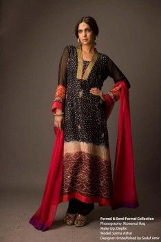 New Formal & Semi Formal Party Wear Collection 2012 For Women Embellished by Sadaf Amir Semi Formal Dresses, Nice Dresses, Casual Dresses, Fashion Dresses, Pakistani Dress Design, Pakistani Outfits, Party Wear, Party Dress, Desi Wedding Dresses