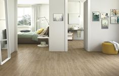 Woodcomfort Ulivo 15x90 & Handmade Sage 25x76 & Handmade Mosaico Sage 25x76