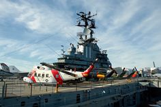 Intrepid Sea, Air and Space Museum. New York. Photo by Andy New. This time we won't just drive past!