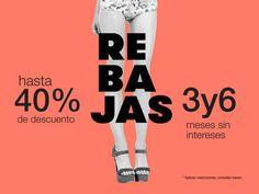 Aprovecha estas increíbles #rebajas en tiendas de línea y outlet para reinventar tu #estilo con los detalles únicos de nuestros #zapatos. #moda #estilo #sale #México #mujer #trends