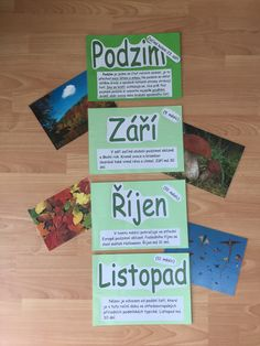 Podzim Autumn Activities, Montessori, Diy And Crafts, Classroom, Teaching, Education, Class Room, Learning, Educational Illustrations