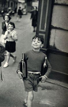 Henri Cartier-Bresson, Rue Mouffetard, Paris on ArtStack #henri-cartier-bresson #art