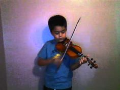"""Cover of Fun's """"We Are Young""""; Learned a little bit of this by ear, mostly just the chorus, but it is one of my favourite songs right now. See more of young violinist #sonA_from_ohagginbros"""