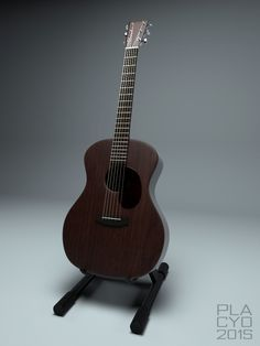 Sigma acoustic guitar modelled in 3DS max