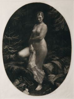 The-cinder-fields: Max Švabinský, In the forest, 1922