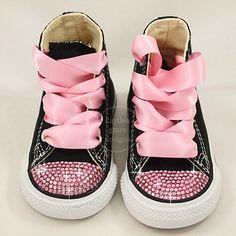 Bling Custom Converse, Crystal Sneakers