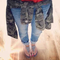 Holster Sandals streetstyle Camo