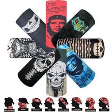 Apparel Accessories Luxury Brand Hiking Scarf Women Seamless Tube Bandana Male Motorcycle Skull Vintage Face Shield Buffe Fashion Neck Gaiter Shemag
