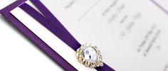 Handmade Wedding Invitations, Invites, Pearls, Purple, Accessories, Homemade Wedding Invitations, Beads, Pearl, Pearl Beads