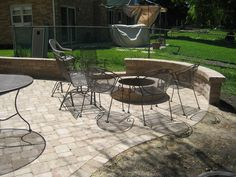 Brick Fire Pit Designs | Brick Paving   Outdoor Grills | Brick Patio Design  | Brick