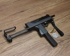 Mac 10 Sub Machine Gun Small Size Display Model Scale 1 2   eBay