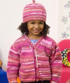 Cute Cardi & Hat