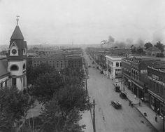 Downtown Jonesboro, Arkansas | Main street looking North.