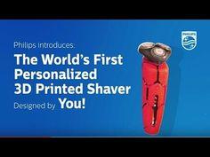 Philips 3D Shaver  Door kwalitatief 3D-printen maakt multinational Philips het mogelijk een 3D shaver in grote oplage te produceren en tegelijkertijd de consument er een grote keuzevrijheid over te bieden.