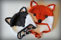 Hello dear readers- After nearly a year hiatus, the foxy wolfie hat pattern is finally here! Winter is coming, and your kiddos need hats. I'd try to be more witty about this, but it's 10:17 and th..