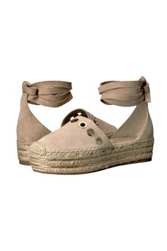 b33b88c1d Layers of braided jute and ribbons of soft leather bring the sandwich-sole  trend to. Shoptiques