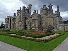 Margam Castle in Wales