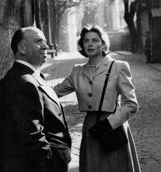 INGRID BERGMAN actrice préférée d'Alfred Hitchcock - 1949 : Film Les Amants du Capricorne (Under Capricorn)