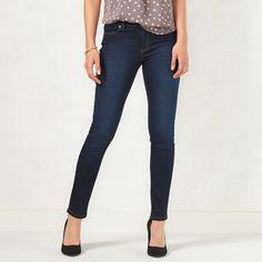 Women's LC Lauren Conrad Jeggings, Size: 4 T/L, Blue