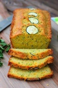 Browned-Butter Zucchini Cornbread | A Red Binder