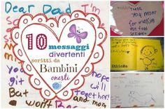 10 messaggi divertenti scritti da bambini onesti