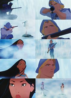 One of my favourite Disney scenes. I love how her hair trails across her face and she's just so effortlessly beautiful!