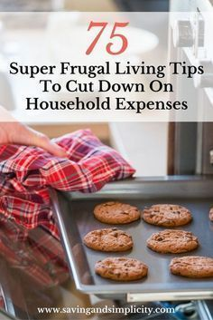 Super Frugal Living Tips To Cut Down On Household Expenses Save more money, cut down your household expenses. 75 Super frugal living tips.Save more money, cut down your household expenses. 75 Super frugal living tips. Save Money On Groceries, Ways To Save Money, Money Tips, Money Saving Tips, Money Savers, Groceries Budget, Living On A Budget, Frugal Living Tips, Frugal Tips