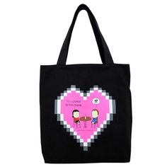 Angry Little Girls Cyber Love Tote