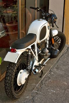 "BMW R100 ""White"" by Cafe Twin"