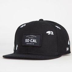 SO CAL Bolt Mens Snapback Hat california  cali  socal  bolt Férfi Divat 21e77a98cb