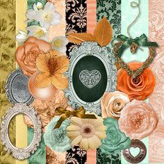 Precious Memories Design Timeless Romance Freebie