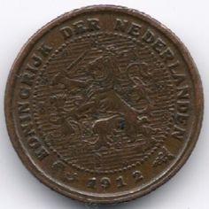Netherlands 1/2 Cent 1912