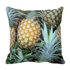 If you have a tropical outdoor theme then you can't go wrong with these tropical outdoor throw pillows.  This #yellow #pineapple #pillow is great for that yard in need of a #tropical #makeover.