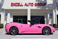 2010 Ferrari California Pink (Stock# 175265)