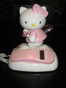 "Hello Kitty Vintage RARE ""Hello Kitty Charater Phone"" Great Condition Only 1 