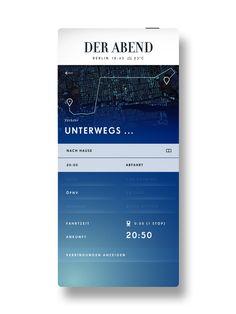 SPIEGEL - Der Abend 2013 on App Design Served
