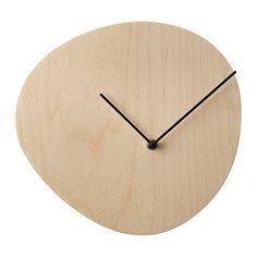 SNAJDARE Horloge murale IKEA Grâce au mouvement à quartz silencieux de l'horloge, vous n'entendrez aucun « tic-tac » gênant. 20€