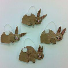 Clay Rabbits- Kindergarten Art (art teacher: v. giannetto)