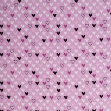 115cm $30/m Swafing hearts Jersey pink/lavender  Swafing Hearts in Lavender Oeko-Tex jersey  x 160cm Jan 2018, Grab Bags, Crafty, Pink, Pink Hair, Roses