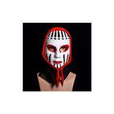 Halloween Faceless Vampire Mask (7.92 AUD) ❤ liked on Polyvore featuring costumes, white, carnival costumes, adult halloween costumes, scary adult halloween costumes, scary adult costumes and scary costumes
