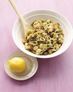 Roasted Cauliflower with Pasta and Lemon Zest - Martha Stewart Recipes