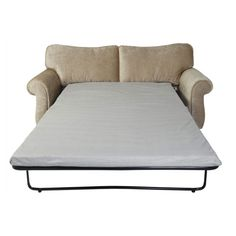 Small 2 Seater Sofa Bed Mattress Sleeper Couch Foam Memory